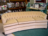 Tufted Curved Back Sofa