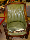 Tufted back Chair-before