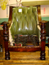 Tufted Chair during restoration