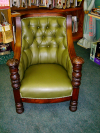 Tufted Chair front view after restoration