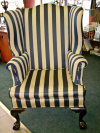 Wing chair -before