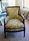 English Occasional Chair